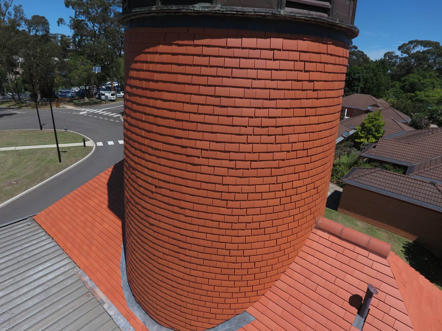 Mowll Memorial Village Tower House Slate Roofing Australia